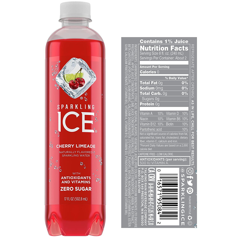 Sparkling ICE Spring Water (Orange Mango, 17 Oz, Pack of 24 Units): Amazon.com: Grocery & Gourmet Food