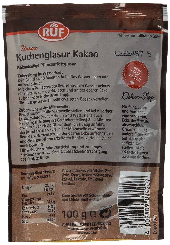 Kuchenglasur kakaopulver