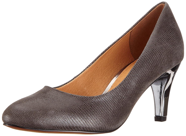 TALLA 37.5 EU Ancho. CAPRICE 9-9-22409-21 218, Zapatos de Tacón para Mujer