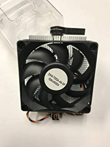 AMD Aluminium Fan for Socket FM1/AM3+/AM3/AM2+/AM2/1207/940/939/754 with 4-Pin Connector CPU Cooler For Desktop Up to 65W