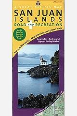 San Juan Islands Map, Road & Recreation, 7th Edition Map