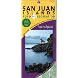 San Juan Islands Map, Road & Recreation, 7th Edition