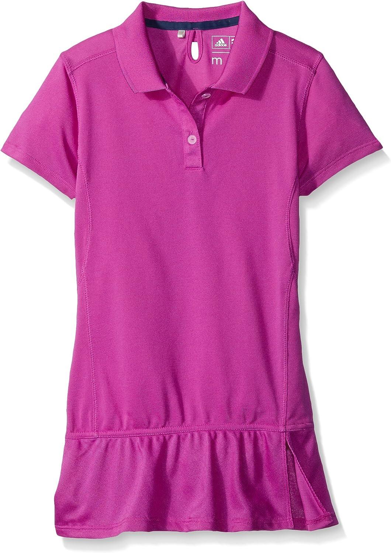 adidas Golf Climalite Advance Niñas Pique Polo de manga corta de ...