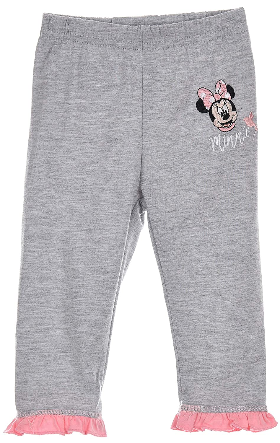 Light Grey,9 Months,L- 28 Inch Disney Minnie Mouse Newborn Leggings Baby Leggings Baby Tights for 6-24 Months,