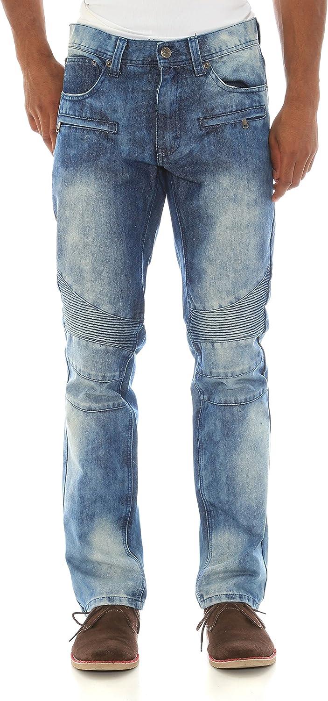Akademiks Men/'s $50 Stretch Slim Fit Teal Blue Denim Jeans Choose Size