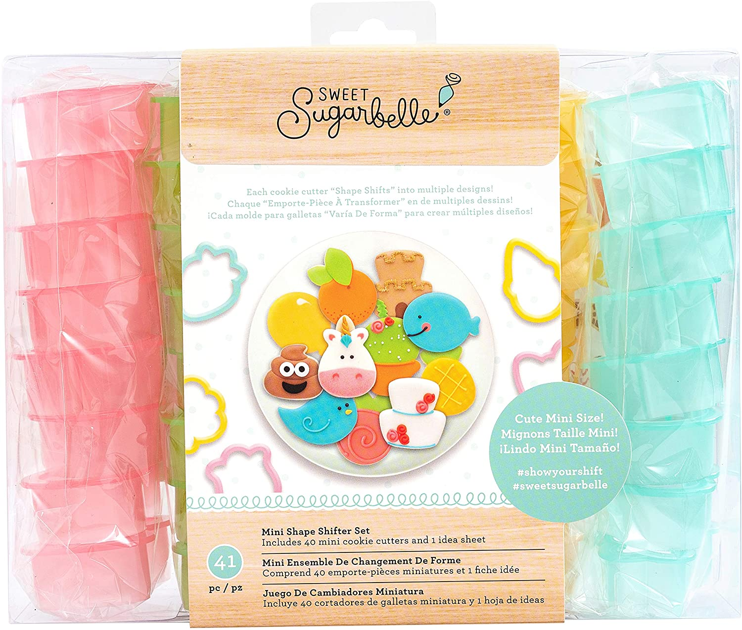 American Crafts Sweet Sugarbelle We Go Together Cookie Pouches 6 Piece