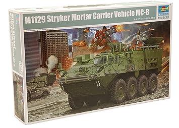Trumpeter 01512 - Maqueta de vehículo Militar M1129 Stryker Mortar MC-B (Escala 1:35)