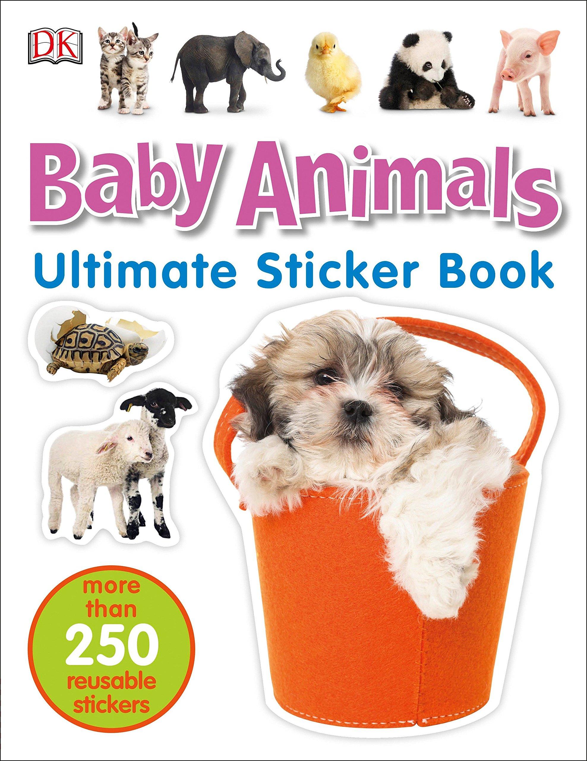Ultimate Sticker Book Animals Books
