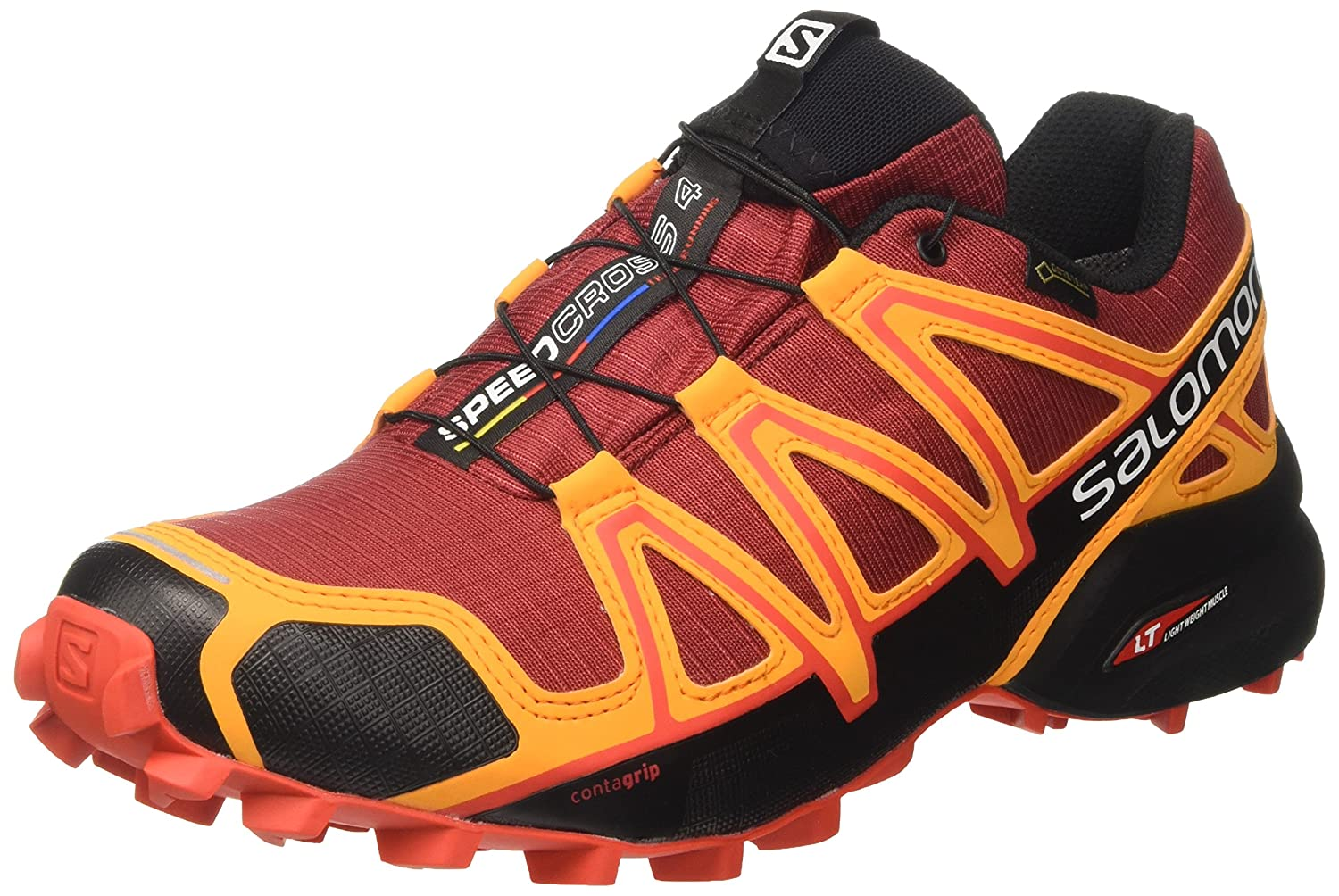 [サロモン] トレイルランニングシューズ SPEEDCROSS Sport 4 Exclusive) GTX メンズ 9.5 B01MZBEJZ2 Red Dahlia/ Bright Marigold (Hdo Sport Exclusive) 9.5 D(M) US 9.5 D(M) US|Red Dahlia/ Bright Marigold (Hdo Sport Exclusive), 酒とキムチの浜田屋:b02c06c3 --- quati.midiax.dominiotemporario.com