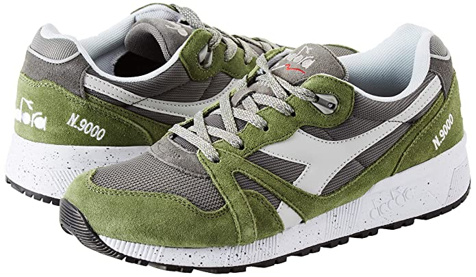 Amazon.com | Diadora Unisex Adults N9000 Speckled Gymnastics Shoes | Fashion Sneakers