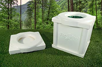 Portable Camping Toilet : Popaloo portable camping toilet amazon sports outdoors