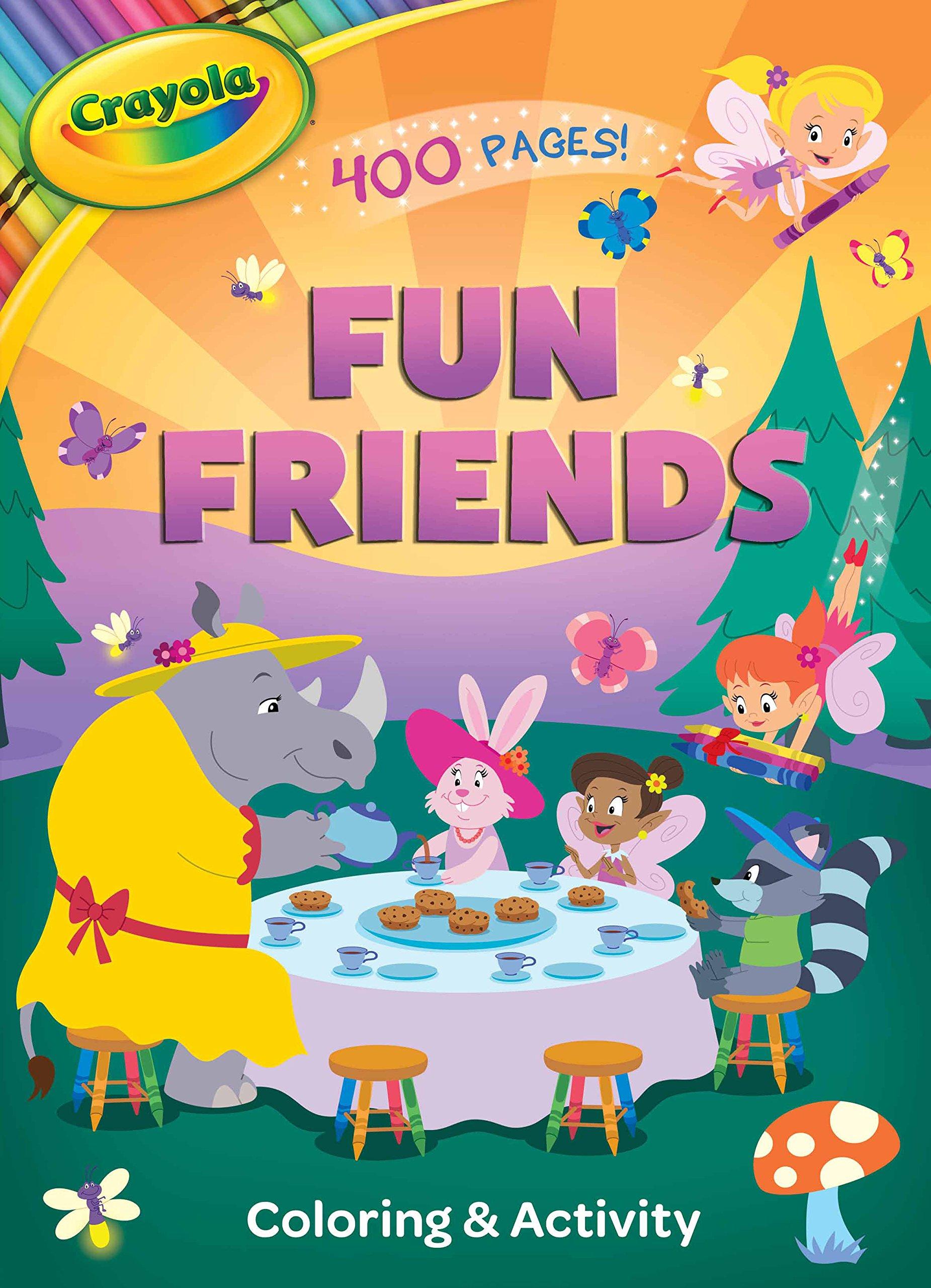 Download Crayola Fun Friends Coloring & Activity ebook