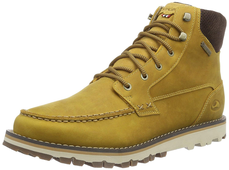 Viking KJENNING GTX Herren Chukka 4318) Boots Gelb (Mustard/Dark Brown 4318) Chukka 6d0051