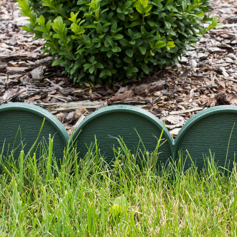 Pinetti da giardino con cordoli per aiuole da giardino for Bordure aiuole plastica