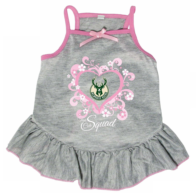 Hunter 4238-18-3900 NBA Milwaukee Bucks Too Cute Pet Dress, Large