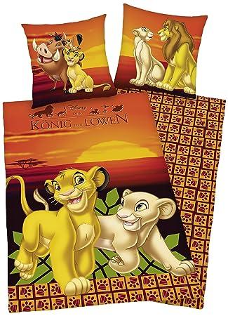Herding 464029050 Disneys König Der Löwen Bettwäsche 80 X 80 Cm