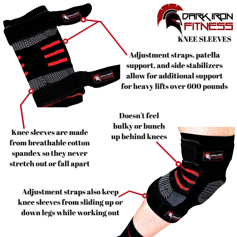 Low Impact Exercise Benefits   Safe & Smart Fitness - Dark Iron Fitness Knee Sleeves