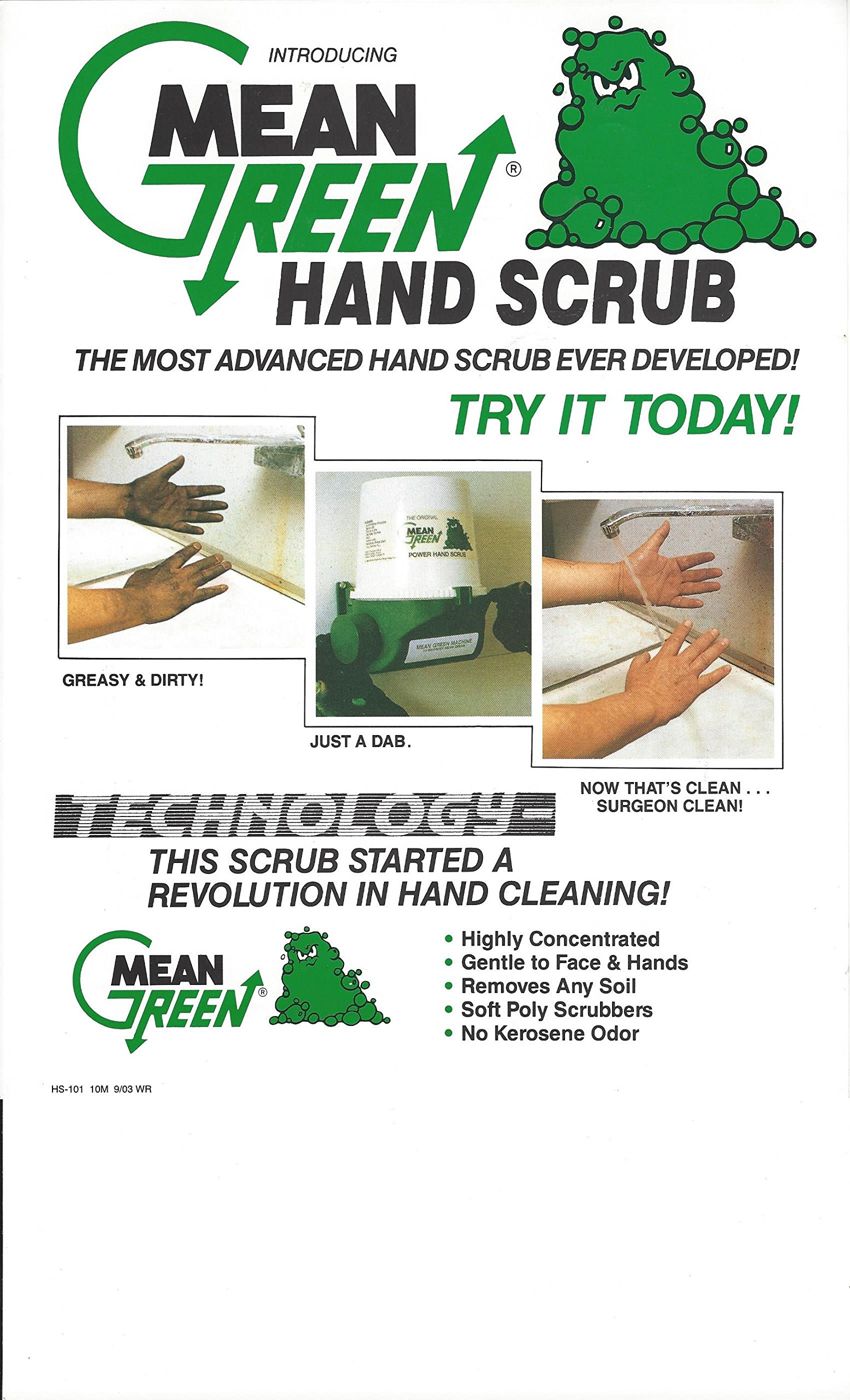 Mean Green Power Hand Scrub Dispenser