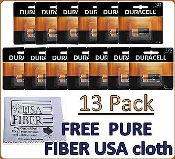 Amazoncom Duracell Dl123 Ultra Lithium Photo 13 Batteries Exp