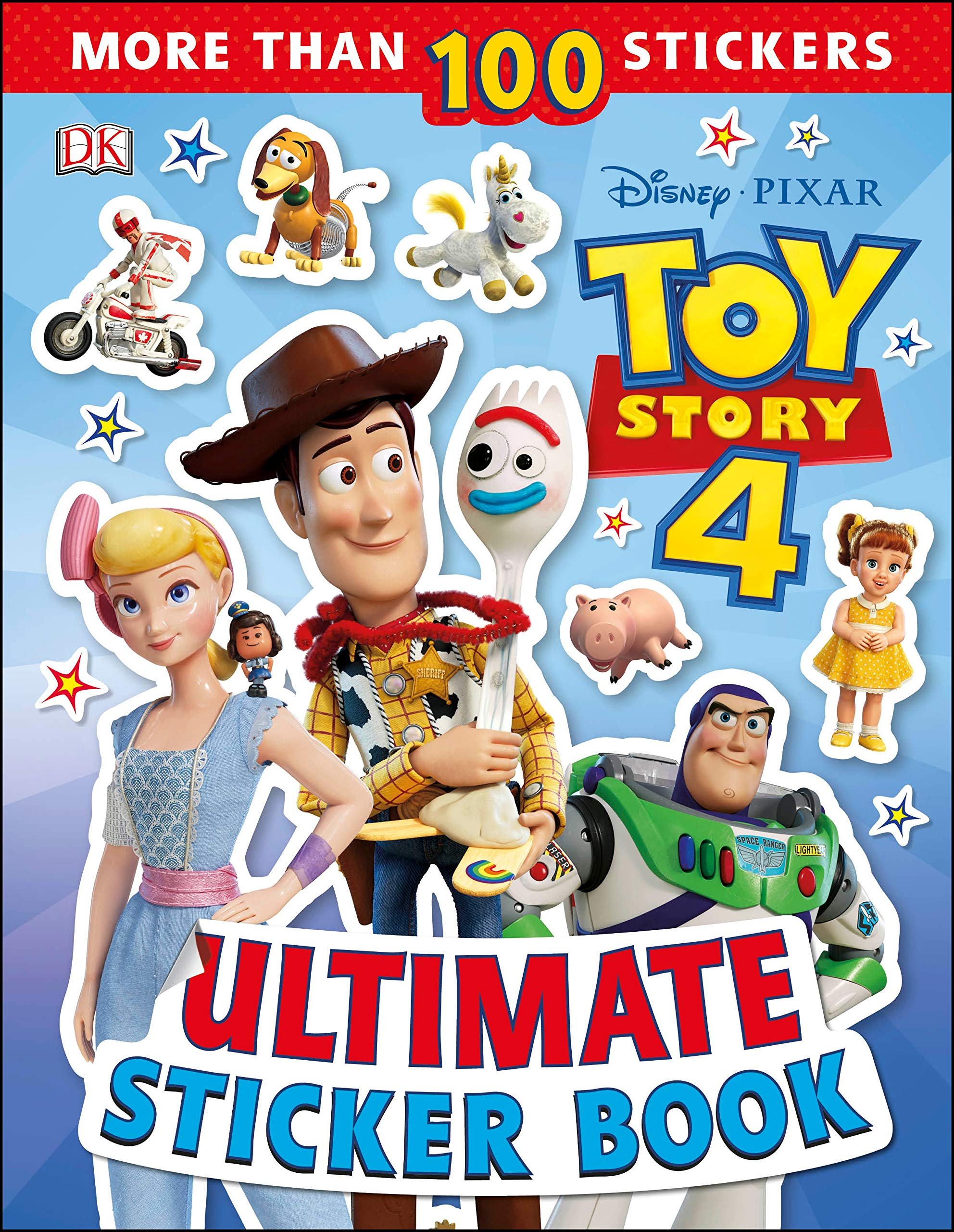 Ultimate Sticker Book Disney Pixar Toy Story 4 Amazon Es