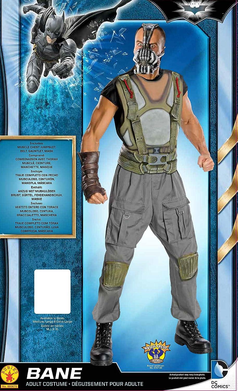Rubieu0027s Official Dark Knight Bane Deluxe Adult Costume - Medium Rubies Amazon.co.uk Toys u0026 Games  sc 1 st  Amazon UK & Rubieu0027s Official Dark Knight Bane Deluxe Adult Costume - Medium ...