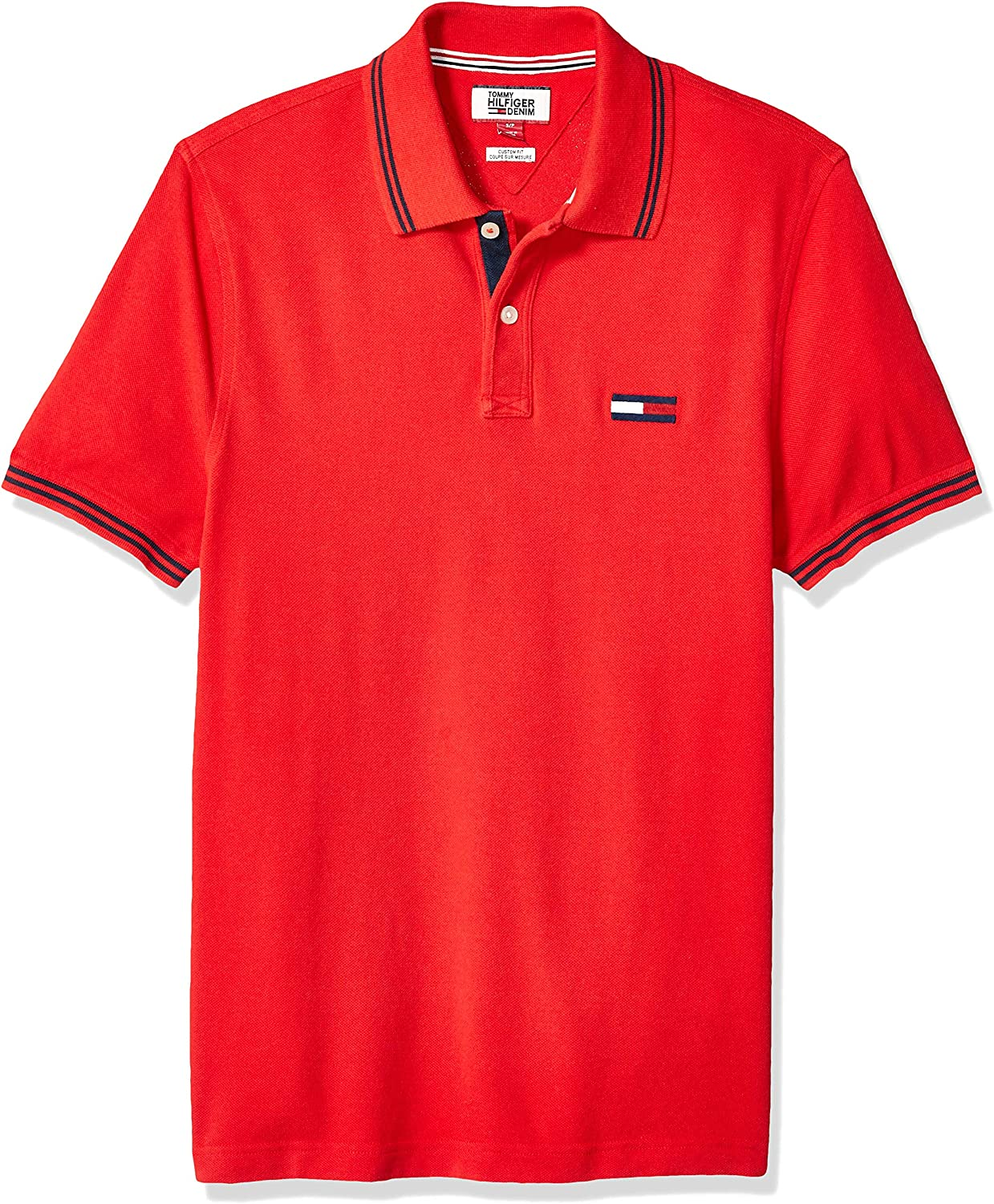 Tommy Hilfiger Men's Big  THD Short Sleeve Polo Shirt