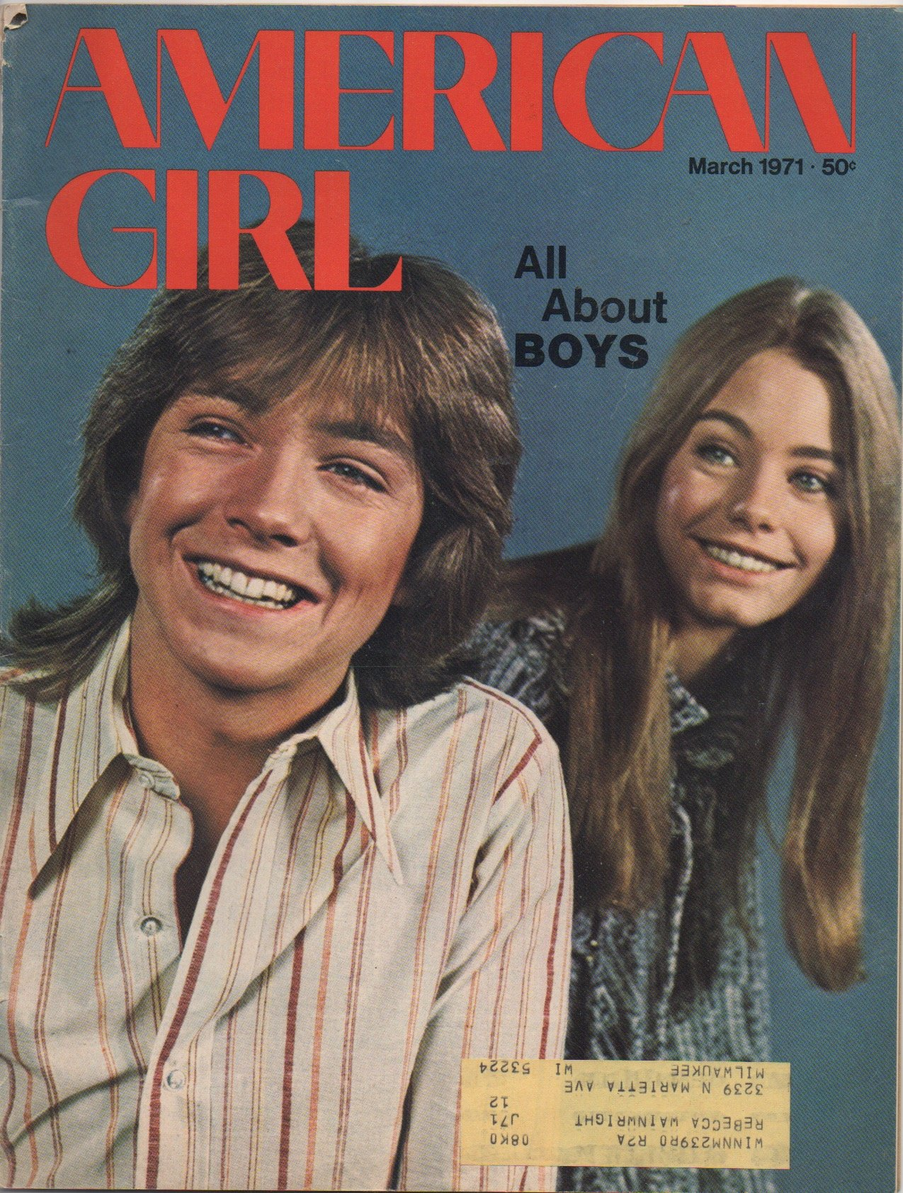 6c282177e64 American Girl  For All Girls (March 1971)