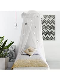 Boho & Beach Bed Canopy Mosquito Net Curtains.