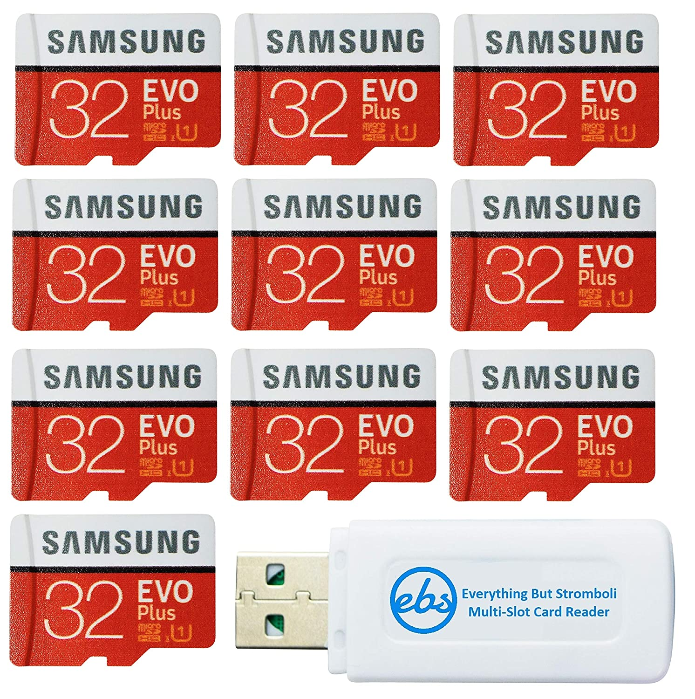Samsung 32GB EVO Plus Tarjeta MicroSD (10 Pack EVO+ Bundle ...