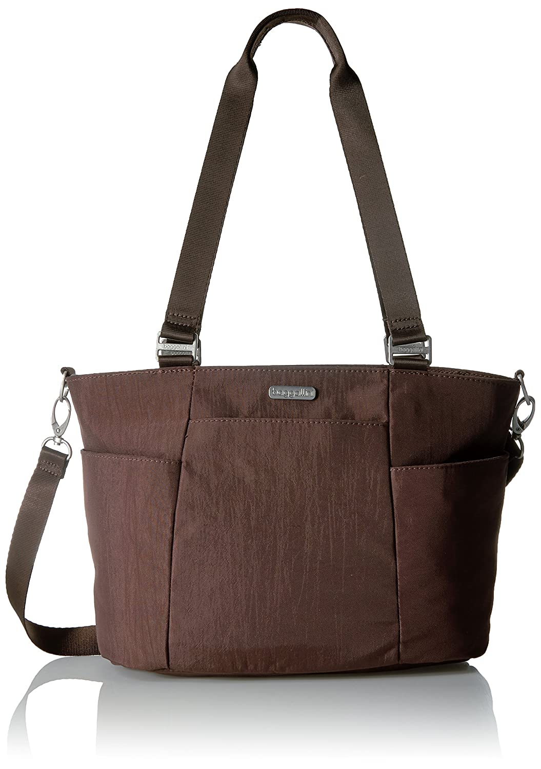 Baggallini Medium Avenue Tote Black/Sand Java One Size (Model:AVE103-Java) FAT17 AVE103B0221