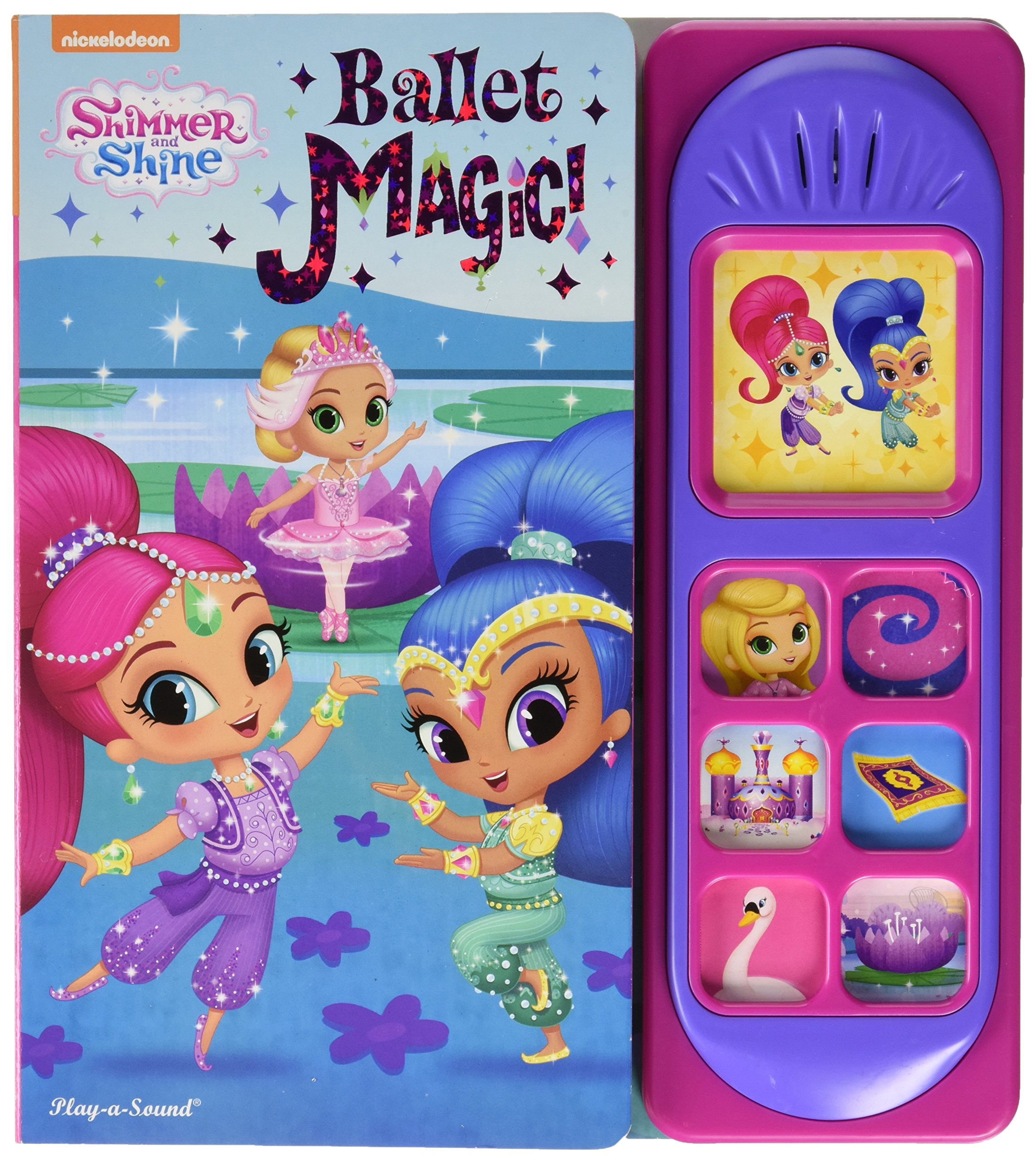 Coloring And Drawing: Coloring Pages Shimmer And Shine Ballet