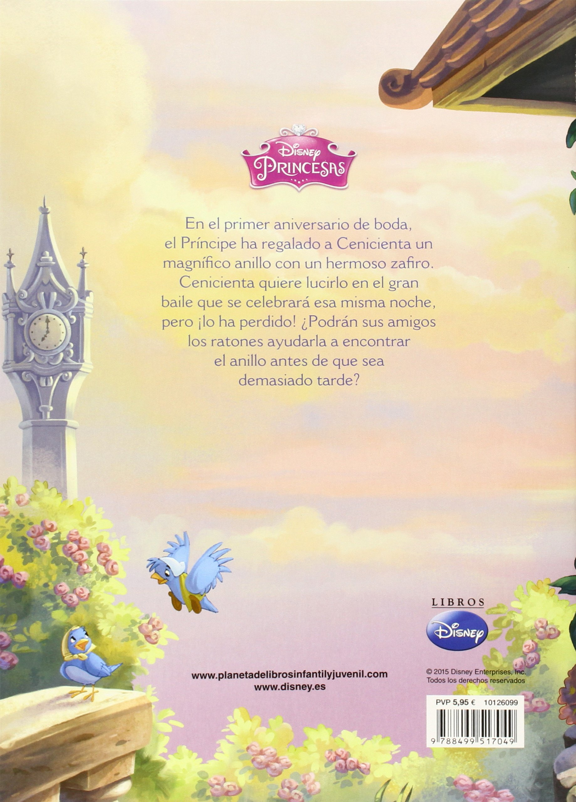 Cenicienta y el anillo de zafiro (Disney. Princesas): Amazon.es: Disney, Editorial Planeta S. A.: Libros