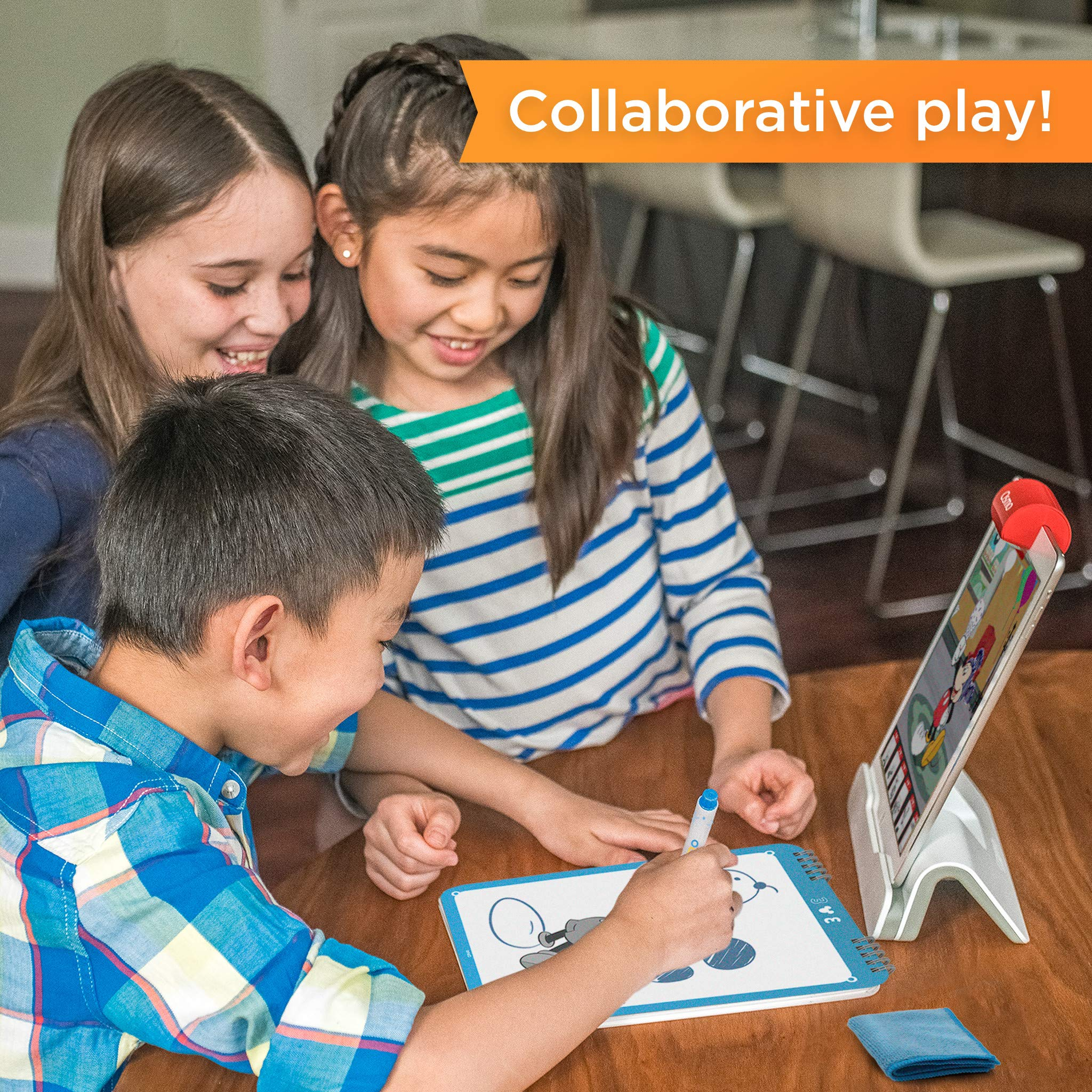 Osmo Super Studio Disney Mickey Mouse & Friends: Learn To Draw Your Clubhouse Favorites & Watch Them Come to Life! (Base Required) by Osmo (Image #5)