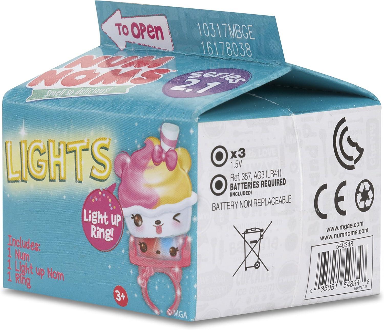 NEW HOLIDAY I Light Up Nom /& 1 Ring Includes 1 Num NEWEST Num Noms Lights Myster Pack Series 2.2 Blind Carton Light Up Ring!