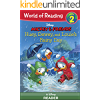 World of Reading Mickey & Friends:  Huey, Dewey, and Louie's Rainy Day Adventure: Level 2
