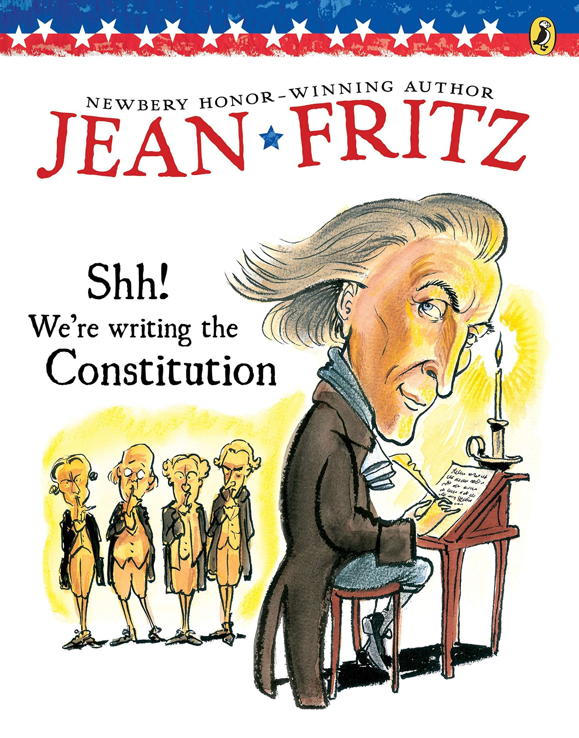 Shh! We're Writing the Constitution Paperback – December 29, 1997 Jean Fritz Tomie dePaola Puffin Books 0698116240