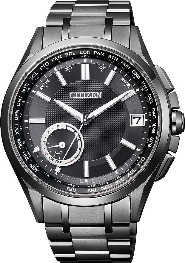 [シチズン]CITIZEN 腕時計 ATTESA アテッサ Eco-Drive エコ・ドライブ GPS衛星電波時計 F150 ダイレクトフライト 針表示式 CC3015-57E メンズ
