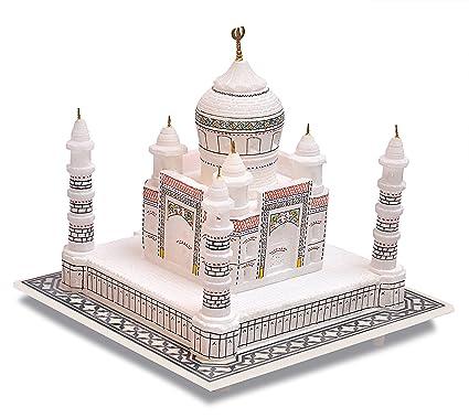 Taj The Symbol Of Love Tist Haat Indian White Marble Handmade