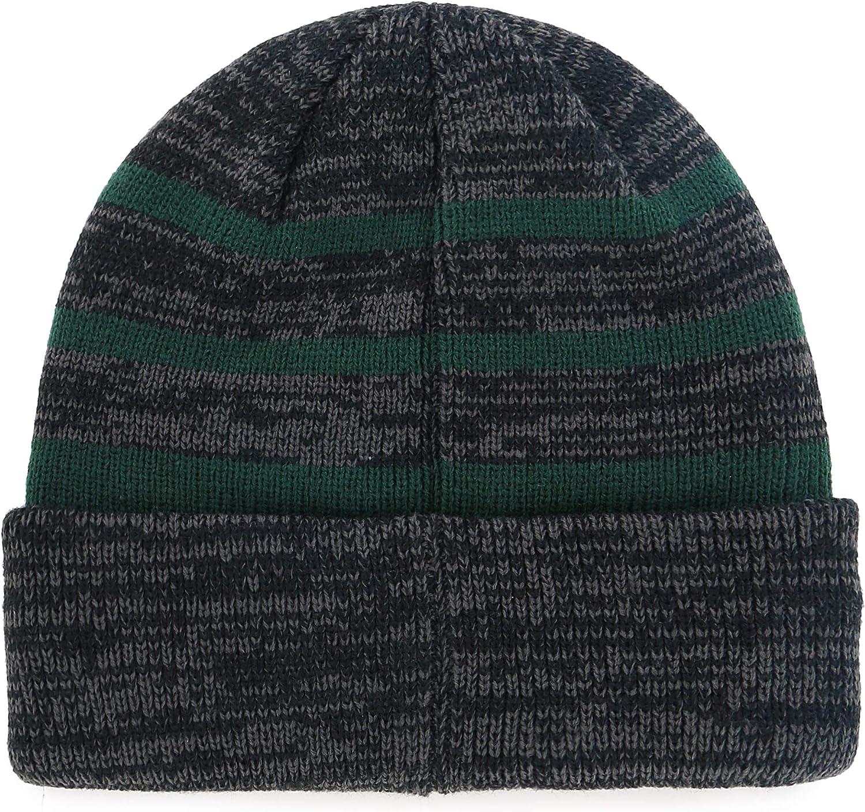 NFL Mens OTS Black Line Cuff Knit Cap