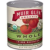 Muir Glen, Organic Whole Fire Roasted San Marzano Style Tomatoes, 6 Cans, 28 oz