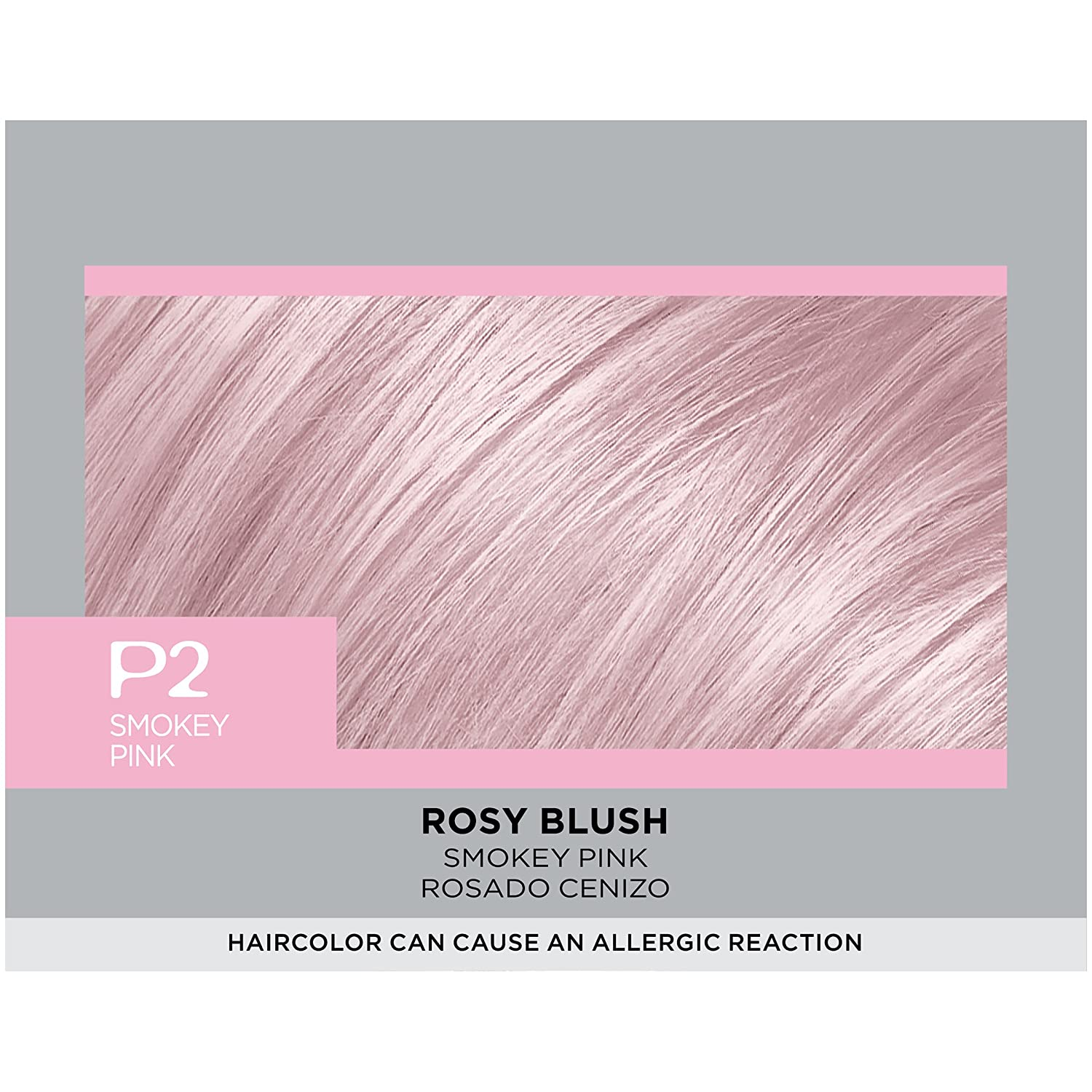 The look at home using l oreal paris feria smokey pastels in p2 smokey - Amazon Com L Or Al Paris Feria Pastels Hair Color P2 Rosy Blush Smokey Pink Beauty
