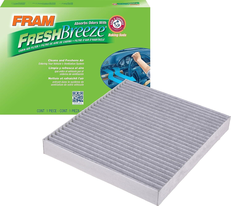 FRAM CF10729 Fresh Breeze Cabin Air Filter with Arm & Hammer