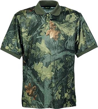 Gamo - Camiseta de Caza para Hombre, tamaño L, Color Verde: Amazon.es: Ropa y accesorios