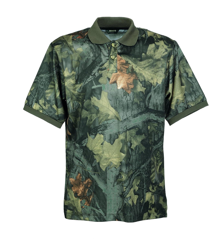 Gamo Camiseta de caza para hombre, tamaño L, color verde: Amazon.es: Deportes y aire libre