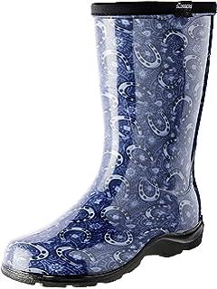 e06adba70d1 Amazon.com: Sloggers Women's Waterproof Rain and Garden Boot with ...