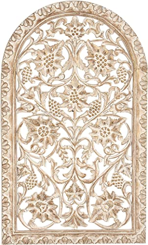 Deco 79 23793 Wooden Wall Panel
