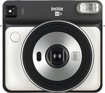 Oferta amazon: Fujifilm Instax SQ6 - Cámara analógica instantánea Formato Cuadrado, Color Blanco (Pearl)