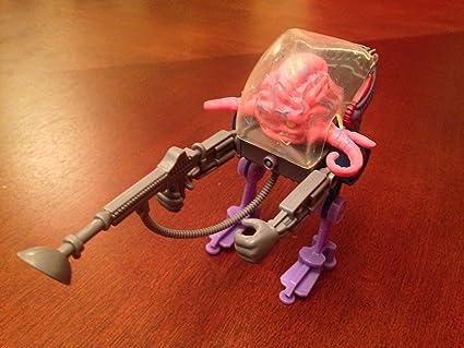 PlayMates Teenage Mutant Ninja Turtles Classic Collection Action Figure, Krang, 4 Inches