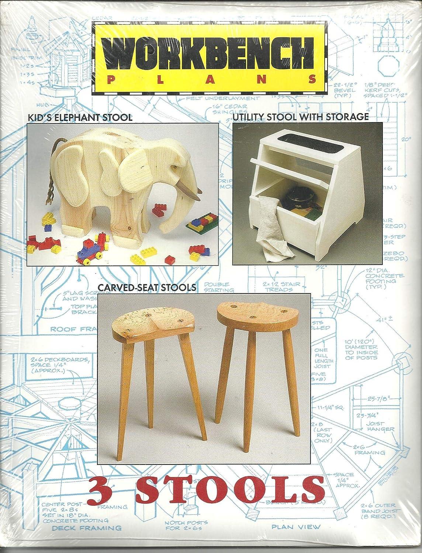 Brilliant Workbench Plans 3 Stools Amazon Com Beatyapartments Chair Design Images Beatyapartmentscom
