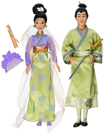Disney MULAN u0026 SHANG Hearts of Honor MOVIE Doll Set  sc 1 st  Amazon.com & Amazon.com: Disney MULAN u0026 SHANG Hearts of Honor MOVIE Doll Set ...